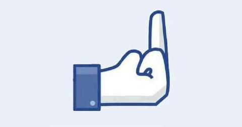 Facebook Middle Finger large