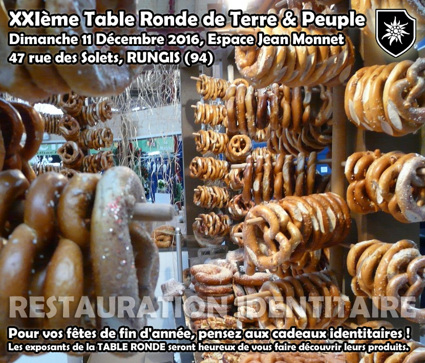 Table ronde 2016 bretzel