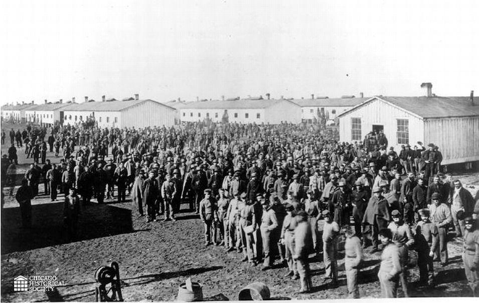Confederate prisoners Camp Douglas4